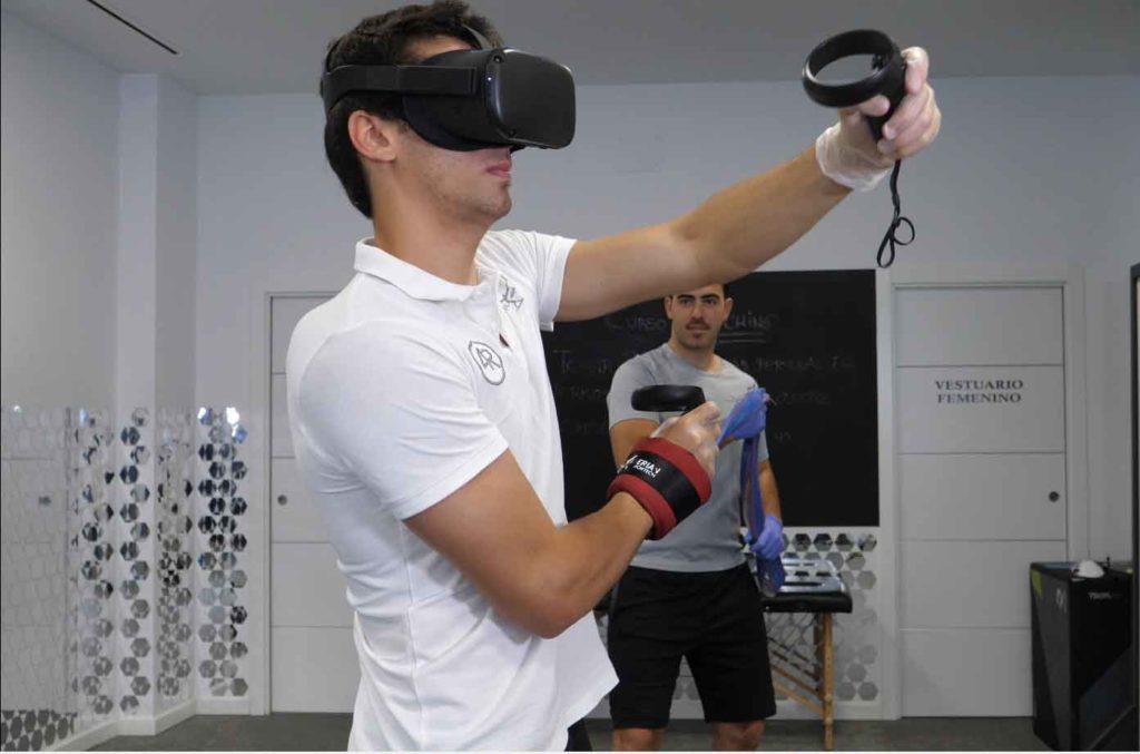 Técnicas avanzadas Metropol salud. Reallidad virtual. Rehabilitación y entrenamiento. Fisioterapia Sevilla y Aljarafe.