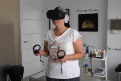 Realidad virtual gafas 3D, ejercicios 360. Metropol Salud, tu clínica de fisioterapia en Sevilla y el Aljarafe