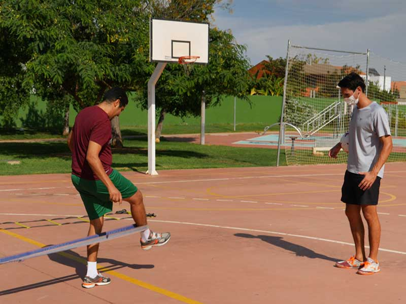 Rehabilitación en campo - Metropol Salud, tu clínica de fisioterapia en Mairena del Aljarafe